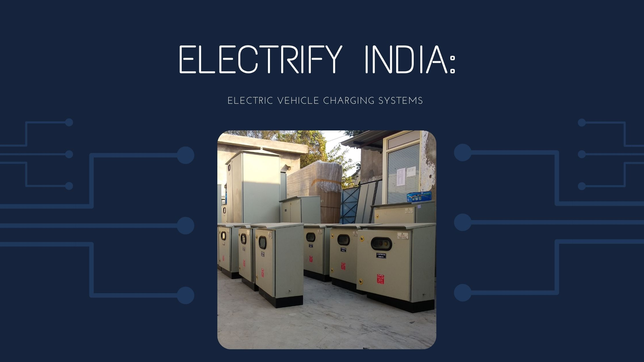 Electrify India: Electric Vehicle Charging Station – Installation Guideline: Electric Mobility Mission Plan